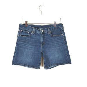 Levi's Medium Wash Denim Jean Shorts Size 29